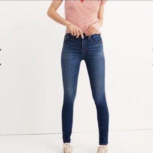 Madewell High Riser skinny jean size 27
